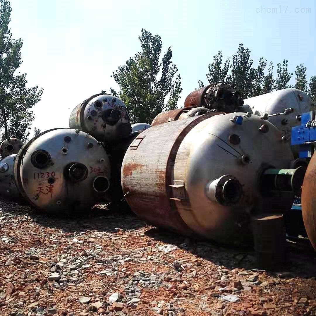河北出售30000升外盘管不锈钢反应釜定金