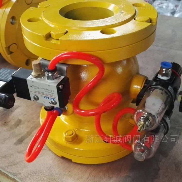 GJ841X球型一体式气动管夹阀