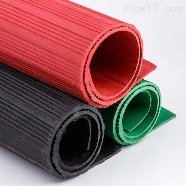 CZ-JD-HF-红色防滑绝缘胶垫高压绝缘垫/地毯