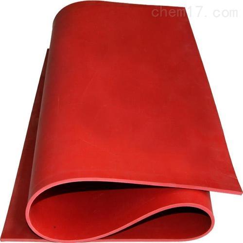 红色防滑绝缘胶垫 高压绝缘垫