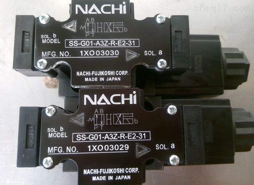 日本NACHI不二越电磁阀