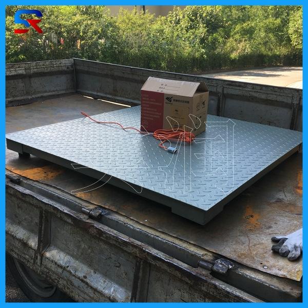『质保一年』上海3吨地磅秤电子平台秤