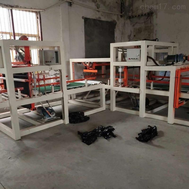 四川水泥匀质聚苯板设备与匀质板切割锯厂家