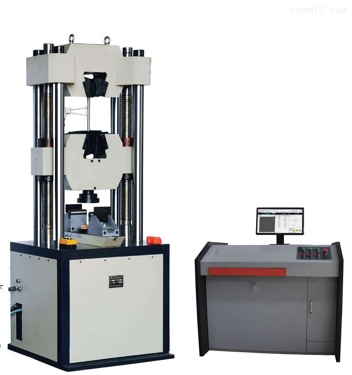 100T微机屏显示液压锚杆试验台
