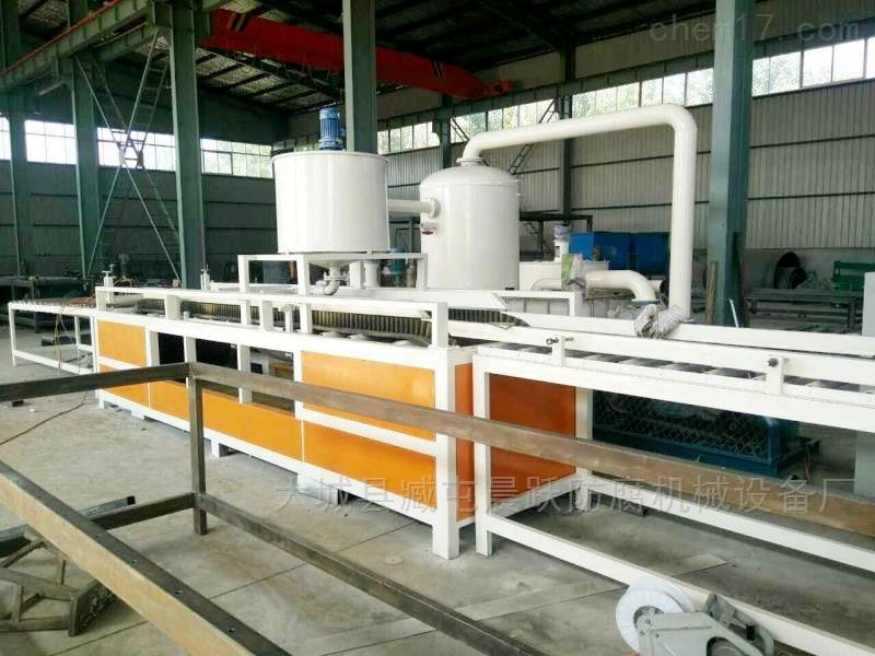 无极渗透硅质保温板设备清洗全流程