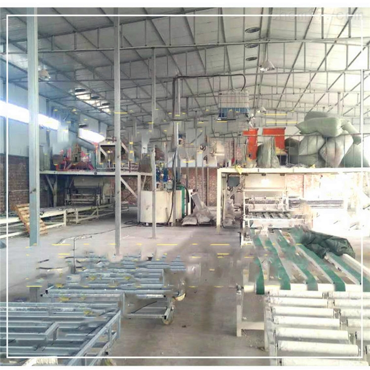 压制型匀质板设备与流淌式保温板生产线