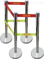 低价销售警示带不锈钢伸缩围栏,安全围栏,警示带安全围栏,带式不锈钢伸缩围栏