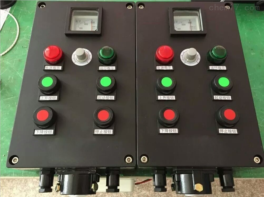 BXK8030四钮防爆防腐塑料检修设备操作箱