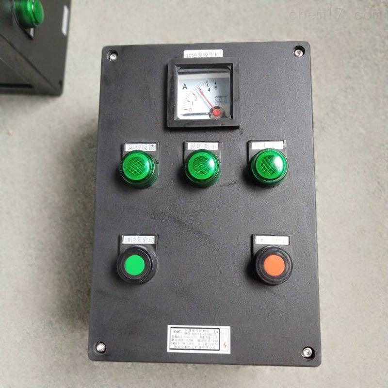 BXK8060-D2K2配电室防爆塑料多灯开关操作箱