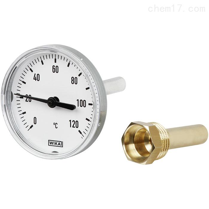 德国威卡WIKA温度计双金属