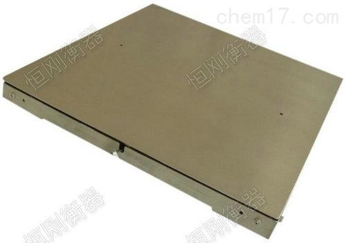 标准型单层地磅秤,连接电脑电子磅