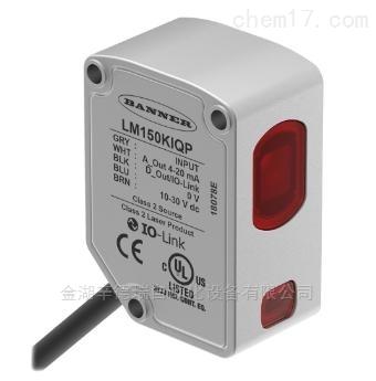 美国BANNER激光测量传感器