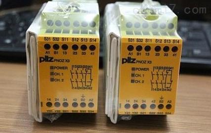 德国皮尔兹PILZ继电器监控