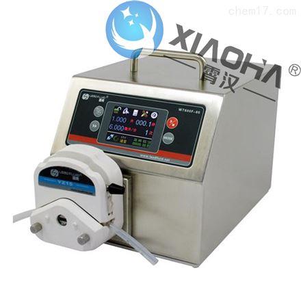 WT600F-65高防护定量智能型蠕动泵YZ泵头