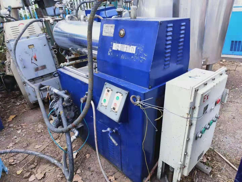 砂磨机2020全国回收二手盘式砂磨机价格高