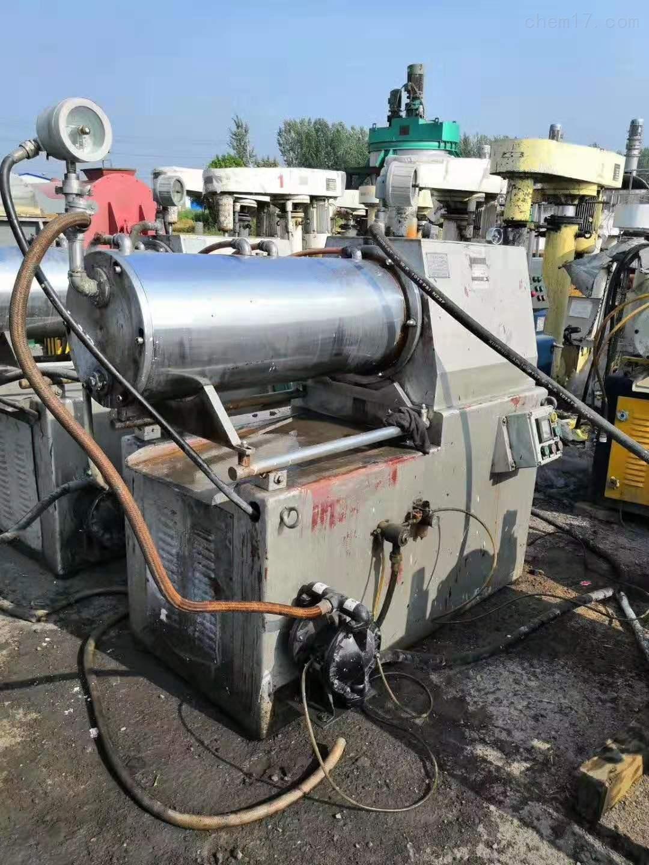 砂磨机2020回收二手卧式密闭锥形砂磨机价格高