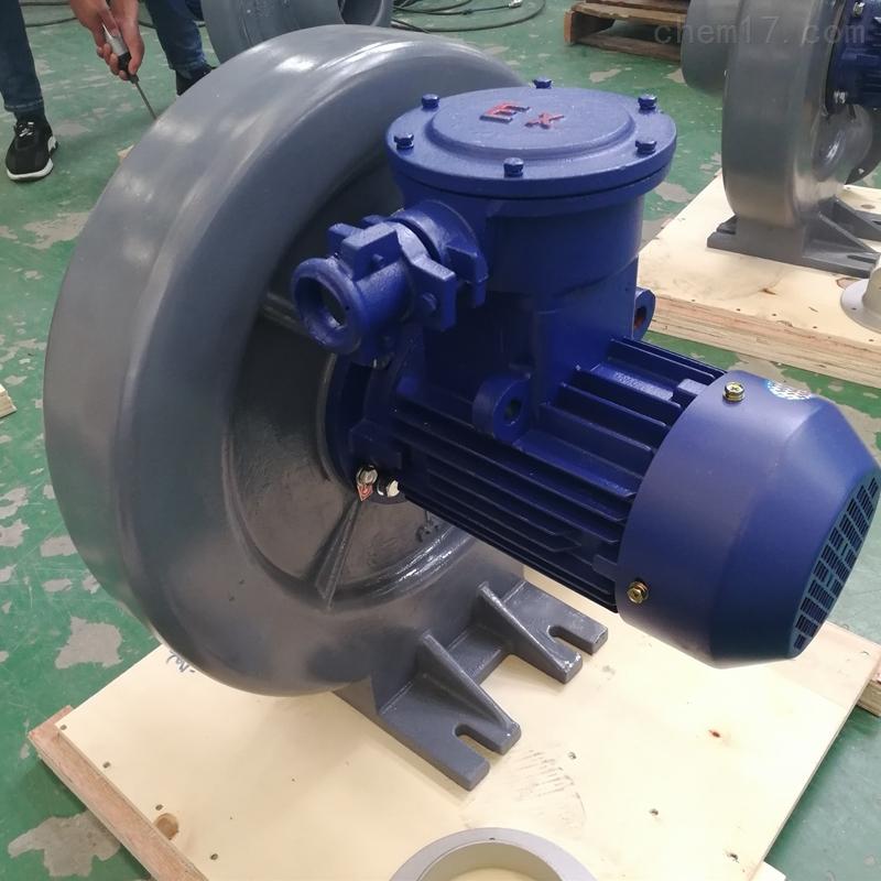 5.5KW压铸铝壳中压防爆鼓风机