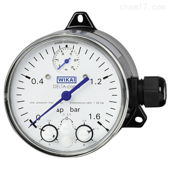 德国WIKA威卡电接点压力表