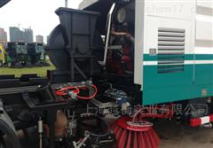 3方挂桶式环卫车带称重功能的自卸垃圾车