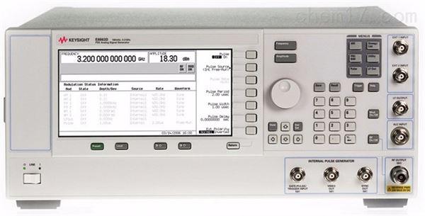 Keysight信号发生器维修-E8663D进不了系统