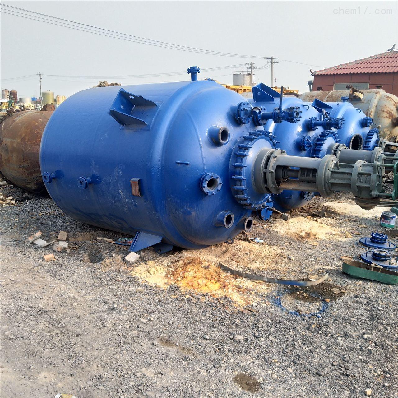 回收二手6300L搪瓷反应釜