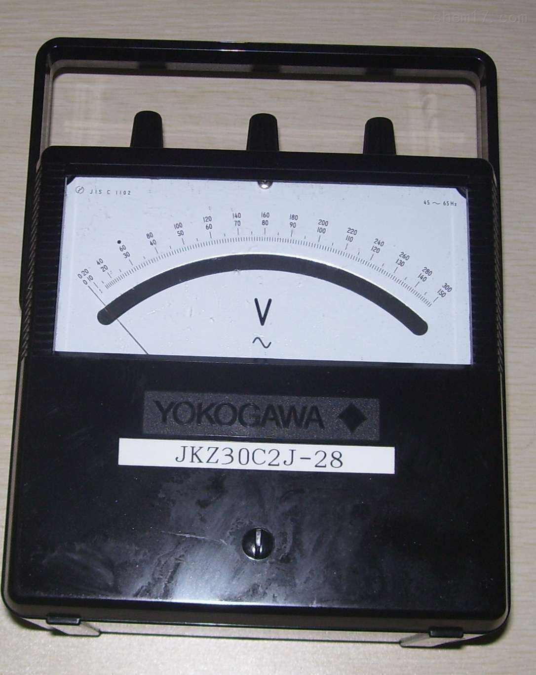 横河YOKOGAWA电压表