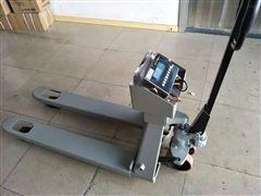 1吨可移动防爆液压叉车秤2.5T化工厂地牛秤