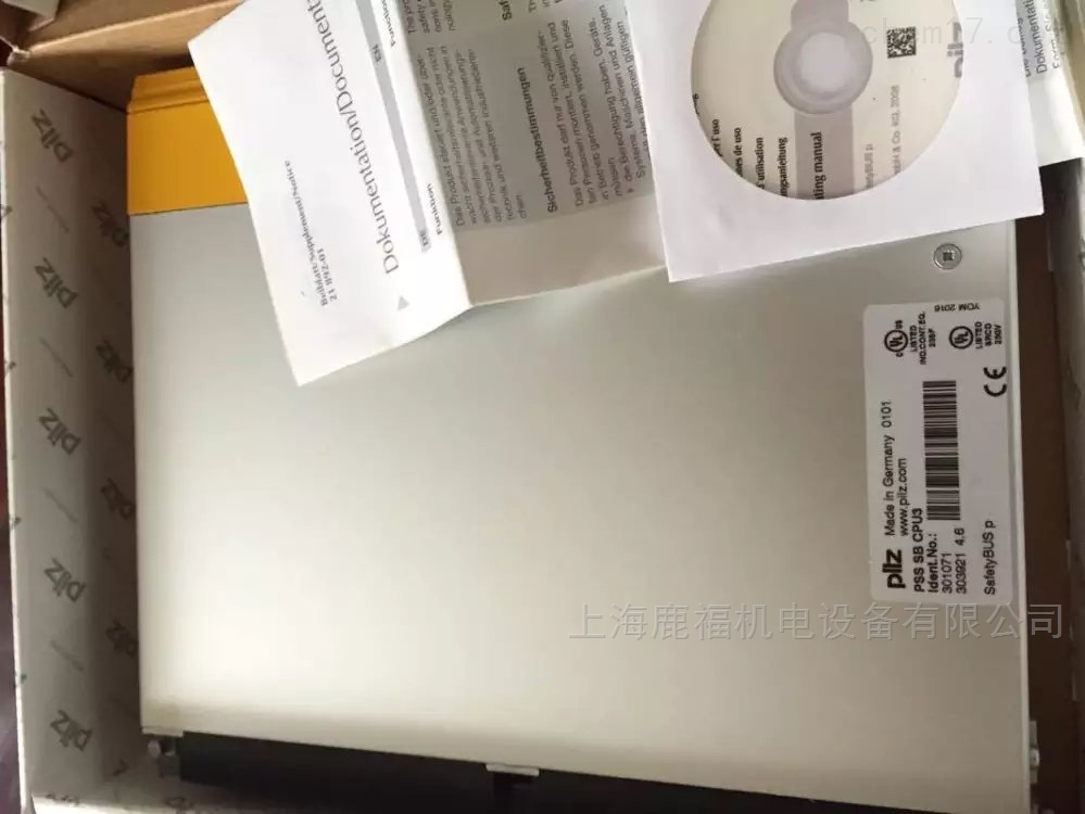 德国Pilz模块PSS SB CPU3 301071原装进口