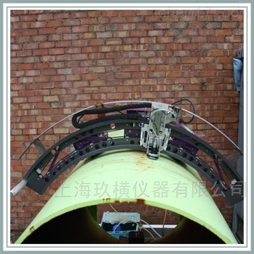 管道腐蚀超声波C扫描自动爬行检测系统