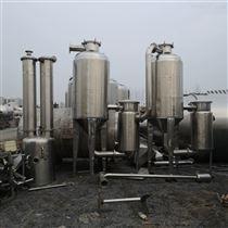 1000L-5000L出售二手浓缩双效蒸发器