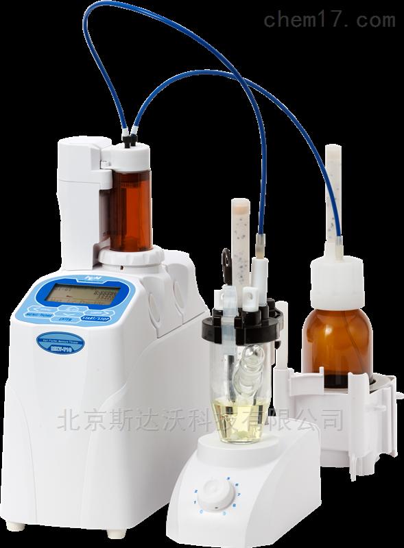 容量法卡氏水分测定仪
