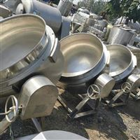 供应二手300升不锈钢电加热夹层锅