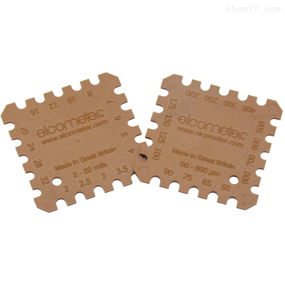 Elcometer B154塑料湿膜梳