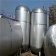 闲置出售二手5吨不锈钢储罐