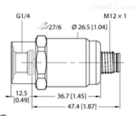 PT1.6A-1001-I2-H1141德国图尔克TURCK压力变送器