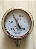 YE-100YE-100不锈钢膜盒压力表上海自动化仪表四厂