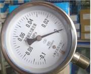 YO-101 F不锈钢氧气压力表0-0.1Mpa