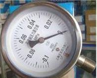 YO-103B不锈钢氧气压力表0-0.1Mpa