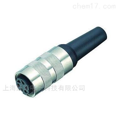 宾德M16孔头连接器带焊接屏蔽环