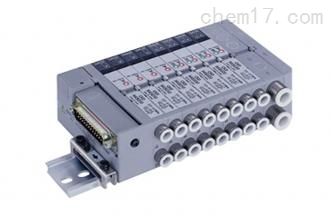 日本喜开理CKDPLC对应型省配线模块集成阀