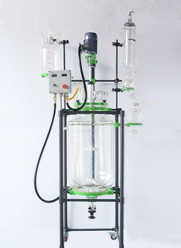 三层玻璃反应釜