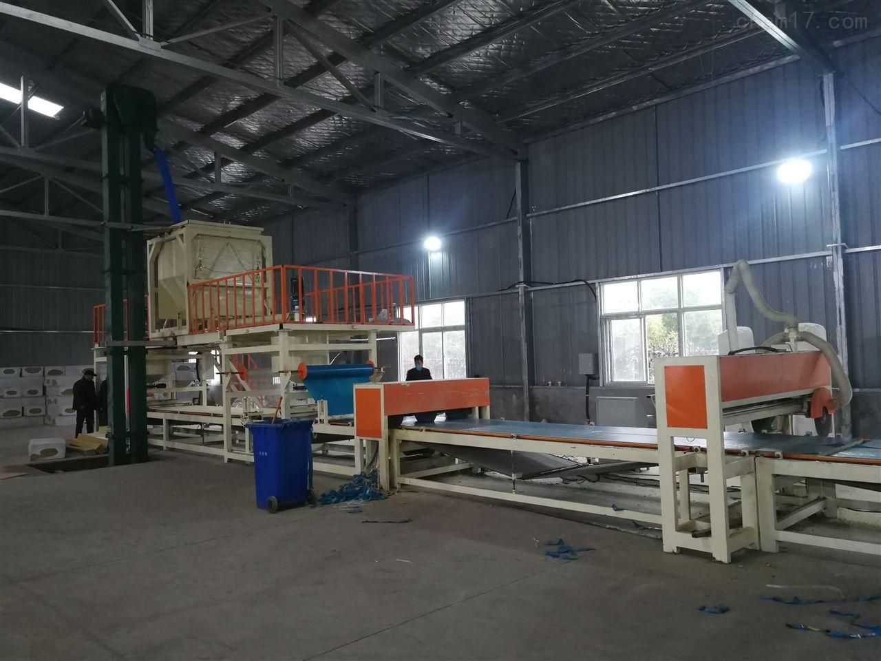 大型机制砂浆纸岩棉复合板设备成熟工艺