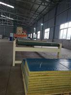 KL-58改性聚氨酯小型岩棉复合板板设备详解
