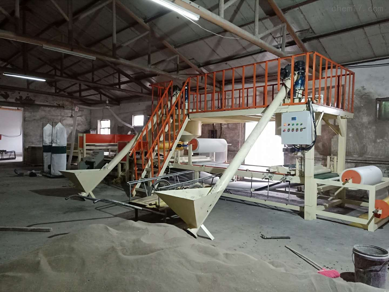 大型机制岩棉复合板生产线一机多用