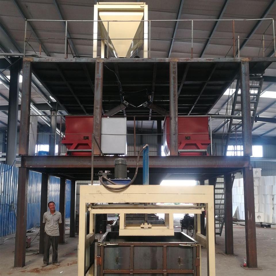 流淌型匀质板设备改性板切割锯生产线