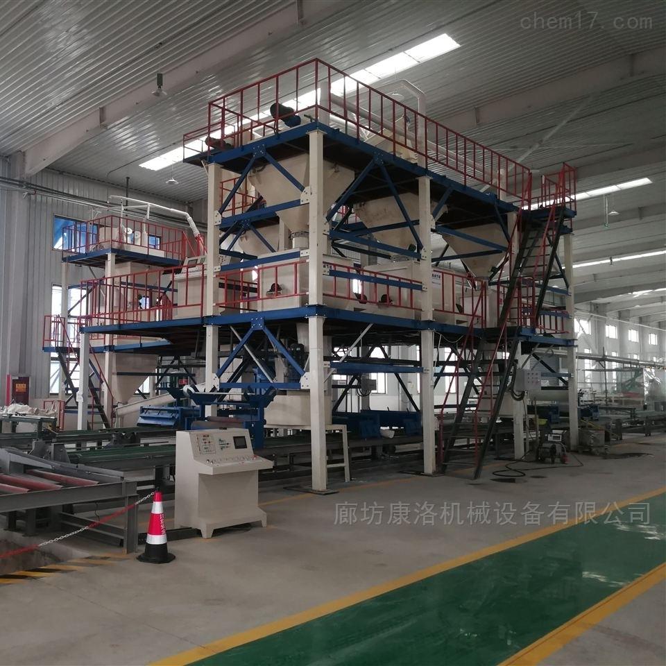 FS免拆模保温板设备与免拆外摸板生产线厂家