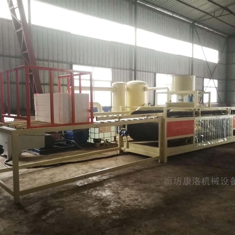 水泥硅质板设备特点及工艺