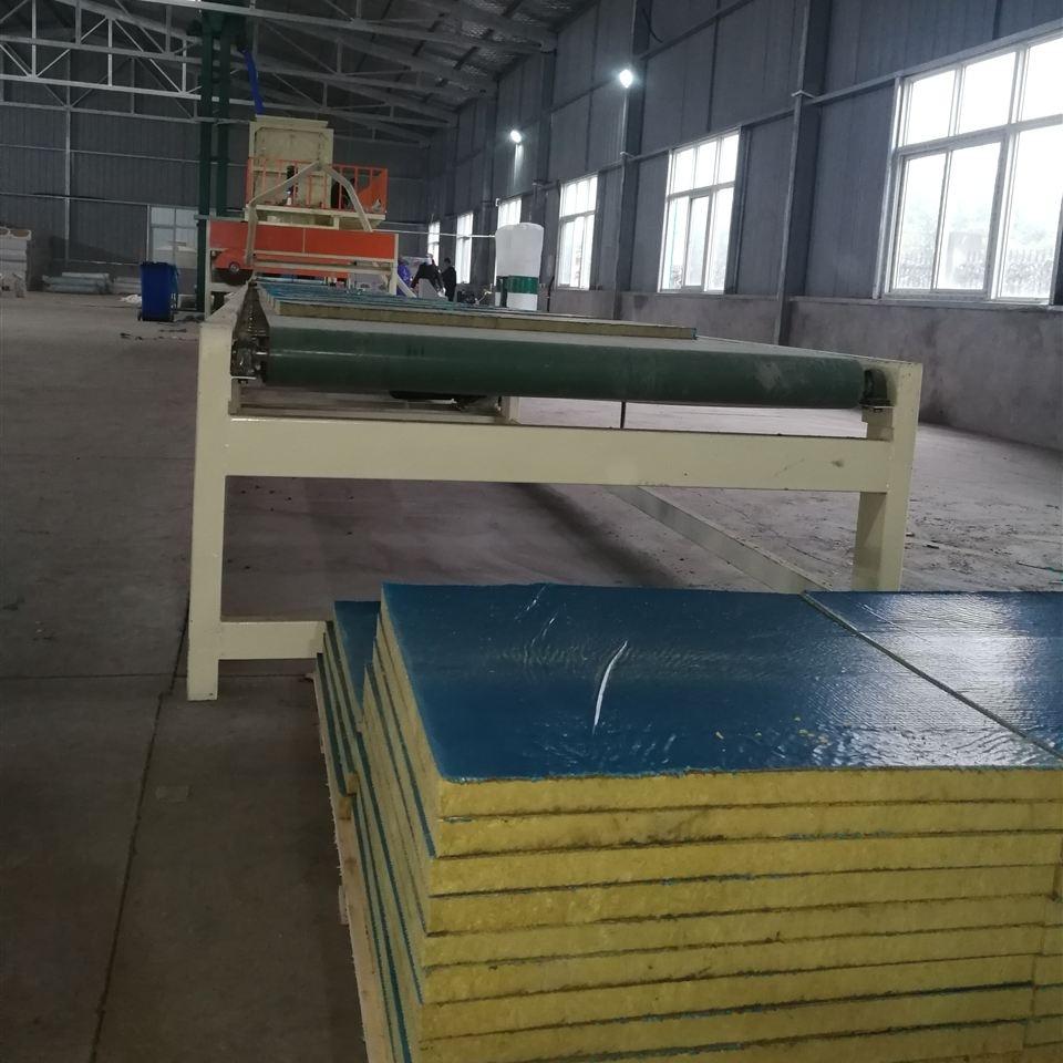 小型机制复合岩棉板设备岩棉复合板生产线