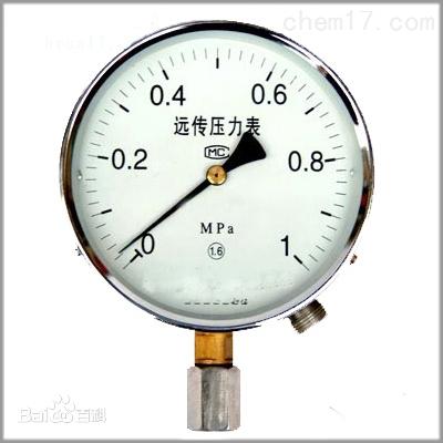 电阻远传压力表选型