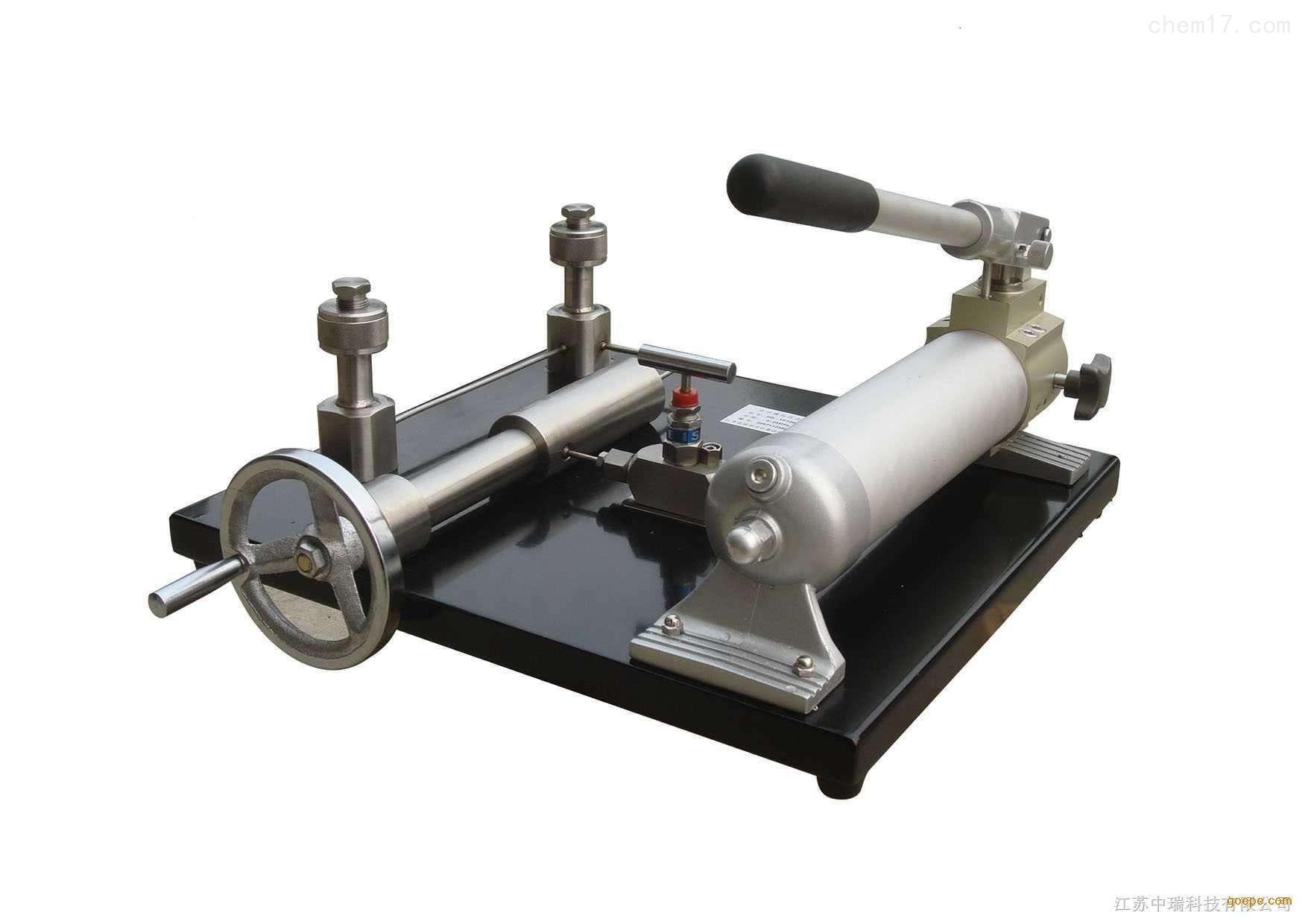 台式压力泵参数